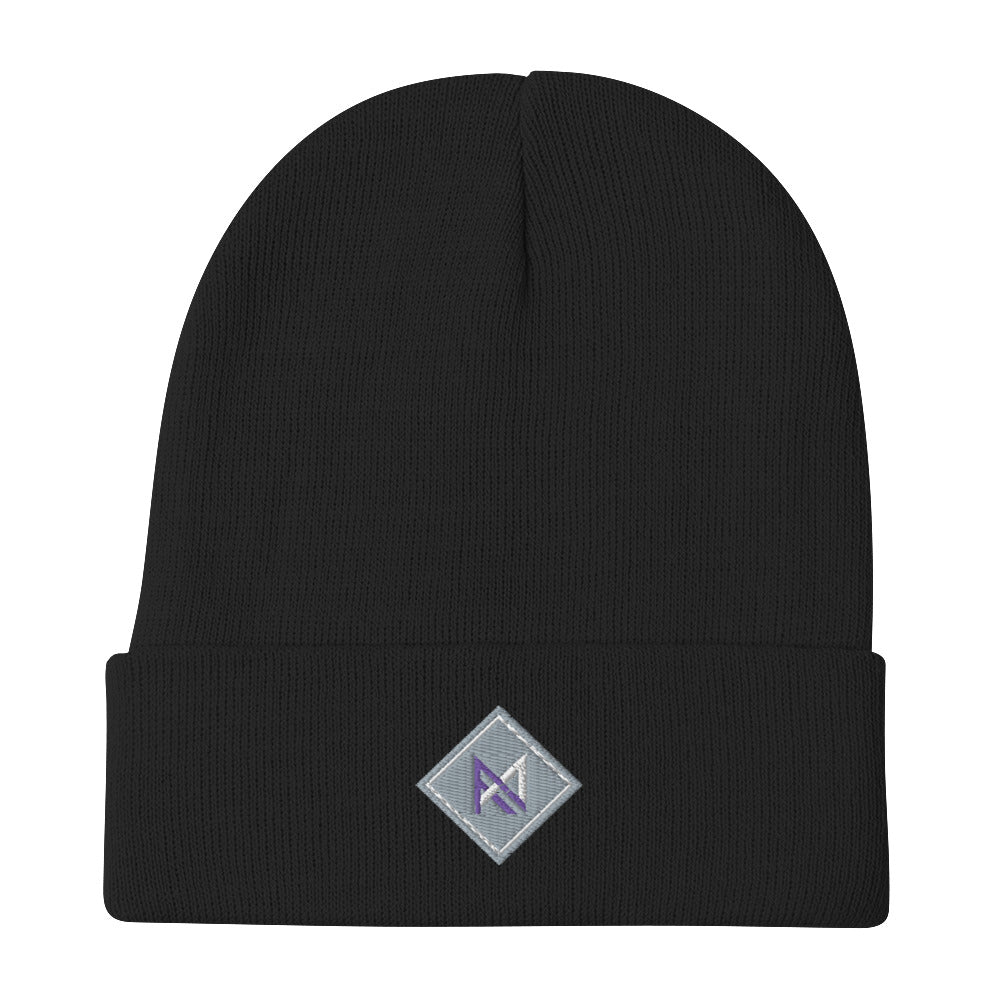 Angelo Machine logo Embroidered Beanie