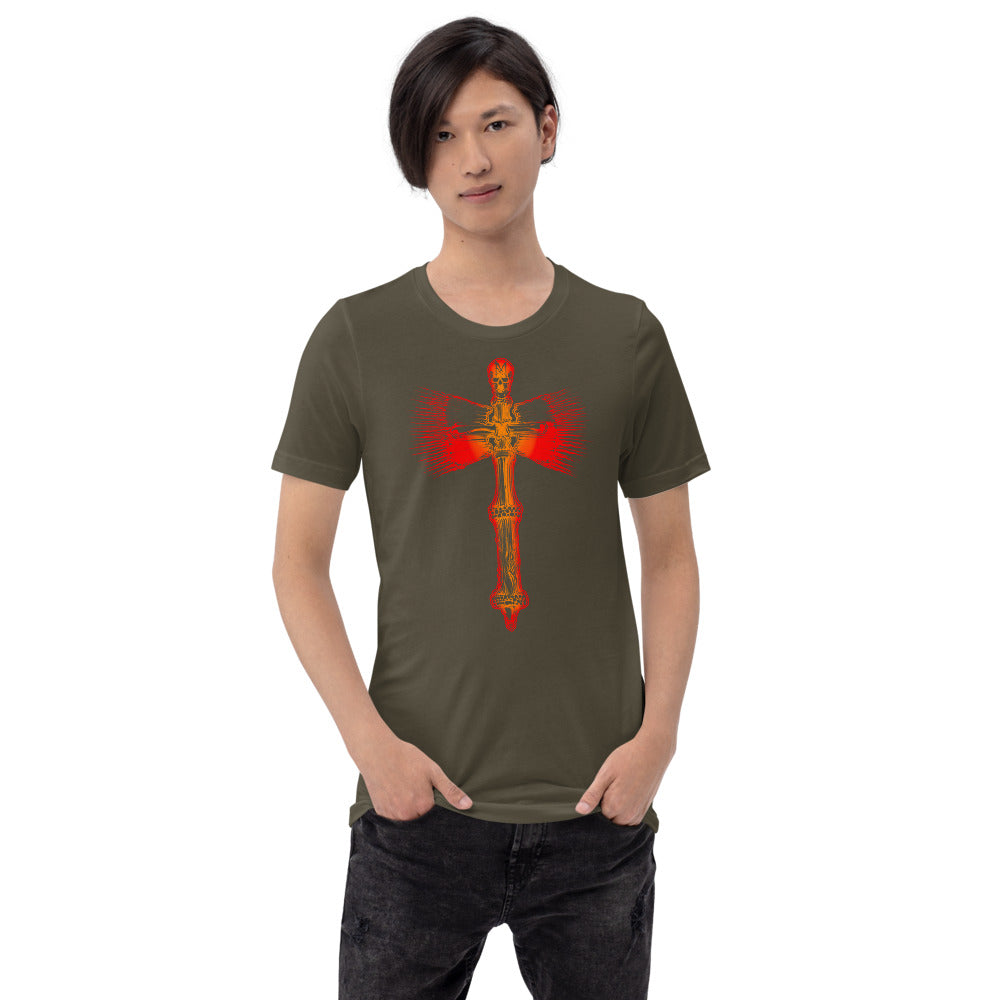 Big Mag Axe Short-Sleeve Unisex T-Shirt
