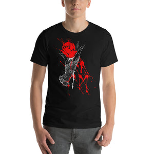 AM lady hand and blood runes Unisex T-Shirt