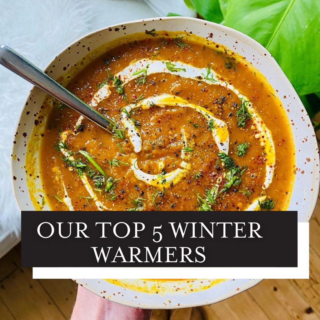 Our Top 5 Winter Warming Recipes