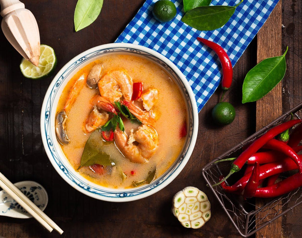 Recipe: Spicy Coconut Noodle Soup