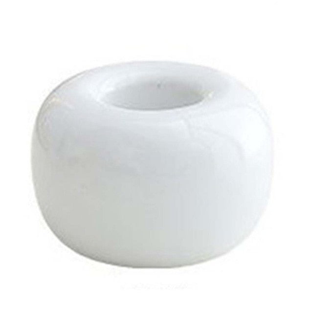 Donut Ceramic Toothbrush Holder - Lavish Latrine