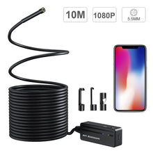 Load image into Gallery viewer, WiFi Wireless Waterproof 1080P 5.5mm Lens Endoscope Camera