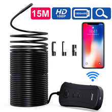 Load image into Gallery viewer, WiFi Wireless Waterproof 5M Camera 8.2mm Lens Endoscope Camera