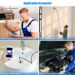 WiFi Wireless Waterproof 5M Camera 8.2mm Lens Endoscope Camera