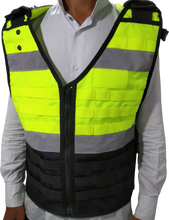 Load image into Gallery viewer, 1 X Load Bearing Vest M-100  Hi Vis Yellow Version1