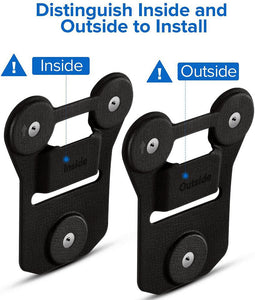 Accessory Magnetic clip fits all Body Worn Cameras