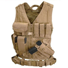 Load image into Gallery viewer, Concept T-1011 Tactical Load bearing vest