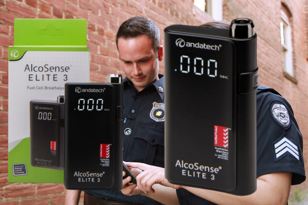 3 Fuel Cell Personal Breathalyser