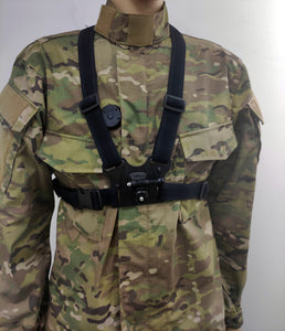 Body camera chest harness