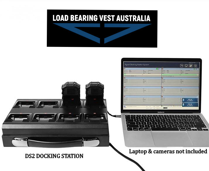 BODY CAMERA DOCKING STATIONS
