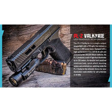 Load image into Gallery viewer, PL-2 Valkyrie 1200 lumen pistol light