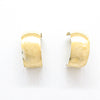 14k Gold Wedding Ring Hoop Earrings by Judie Raiford