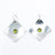 Sterling Non Stick Earrings with Peridot by Judie Raiford