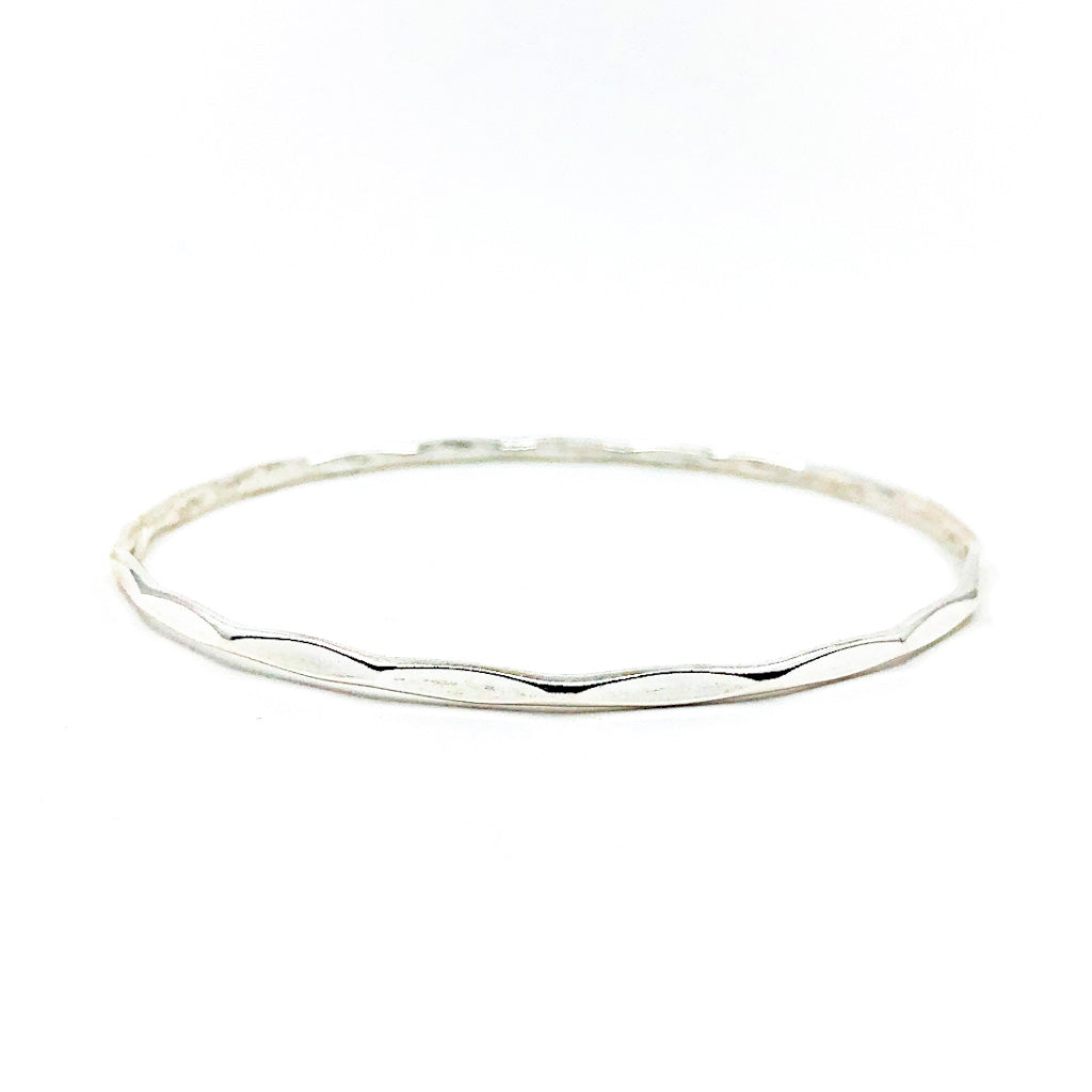 Sterling Orbit Bangle by Judie Raiford