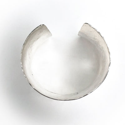 "flat lay view of 3/4"" Anti Clastic Cuff by Judie Raiford"