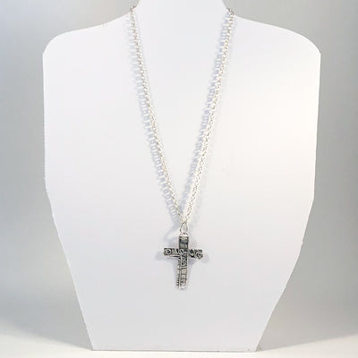 All Pets Go to Heaven Cross Necklace