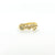 14k Gold Squiggle Ring by Judie Raiford