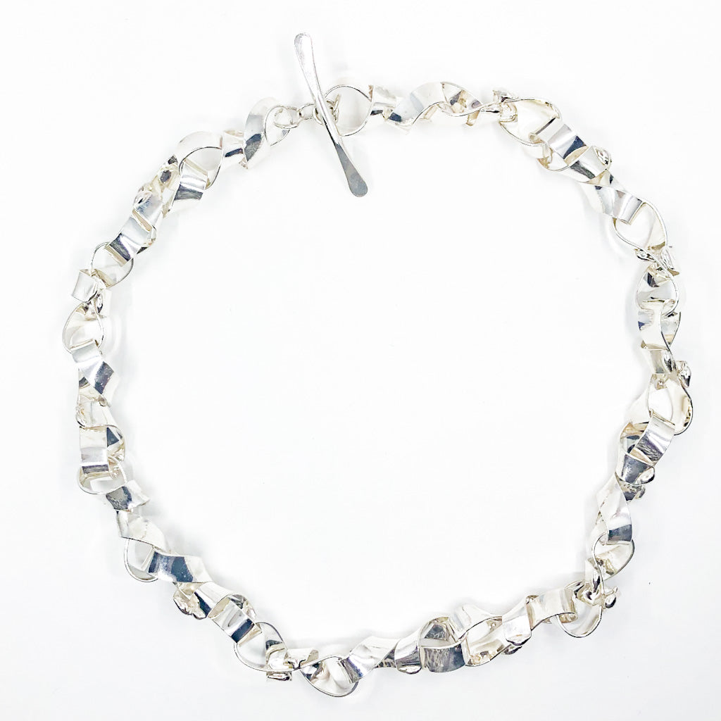 Sterling Davine Necklace by Judie Raiford