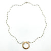 Sterling and 14k Gold Filled Mom's Hammer Mag-O Necklace by Judie Raiford