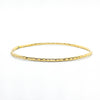 14k Gold Filled Cross Pein Bangle by Judie Raiford