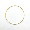 over top view of 14k Gold Filled Bangle by Judie Raiford