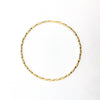 over top view of 14k Gold Filled Single Twist Bangle by Judie Raiford