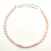 Blush Pearl Necklace by Judie Raiford
