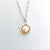 Detail of Water Drop Pearl Necklace by Judie Raiford