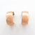 14k Rose Gold Filled Wedding Ring Hoop Earrings by Judie Raiford