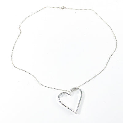Small Jane Heart Necklace by Judie Raiford