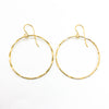 14k Gold Filled Large Orbit Earrings by Judie Raiford