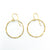14k Gold Filled Small Orbit Earrings by Judie Raiford
