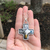 Big Honker Cross Necklace