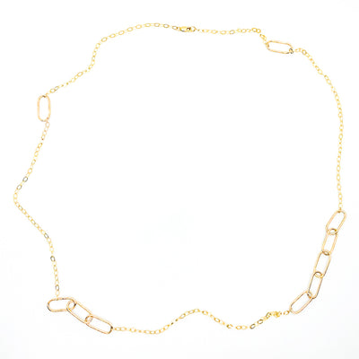 "30"" 14k Gold Filled Ovals Chain by Judie Raiford"