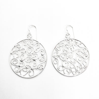 sterling silver Stella Earrings by Judie Raiford