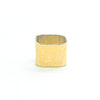 14k Gold Square Stovepipe Ring by Judie Raiford in size 9
