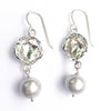 Water Drop Pearl Earrings