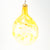 Yellow Glass Ornament by Neal Drobnis