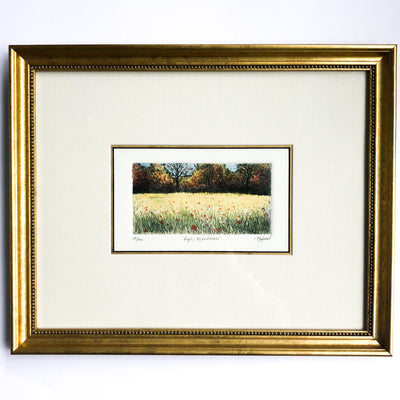 High Meadows Etching 134/200 by Dale Rayburn