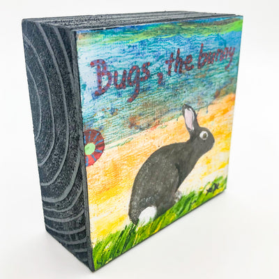 side angle view of Bugs, The Bunny #1336 by Mamie Joe