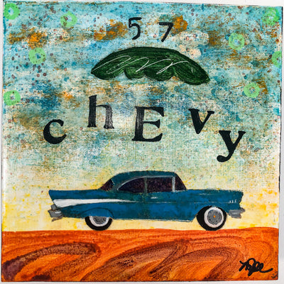 57 Chevy #1222 by Mamie Jo