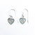 Sterling Heart of Hearts Earrings by Betsy Frost