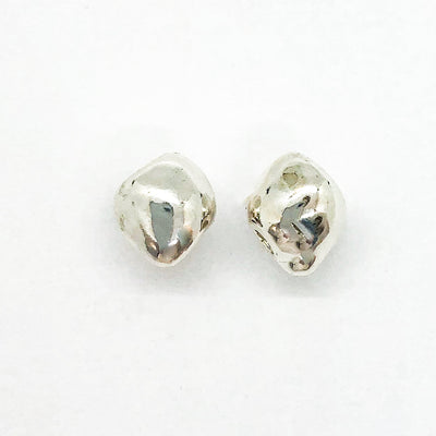 sterling silver Olive Post Earrings by Betsy Frost
