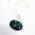 Sterling Black Druzy Necklace