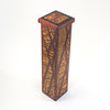 angle side view of Matchstick Box with Purple Heart, Lacewood and Ebony by Kevin Dugan