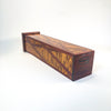 bottom view of Matchstick Box with Purple Heart, Lacewood and Ebony by Kevin Dugan