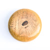 bottom view of Spalted Pecan Bowl Vase by Kevin Dugan
