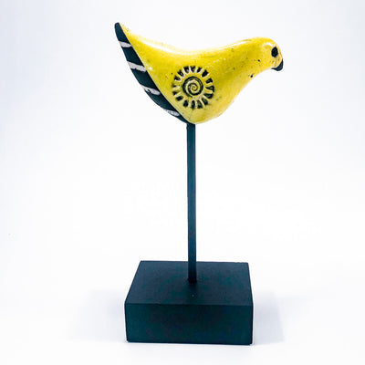 alternate side view of Yellow Bird by JoAnne Bedient