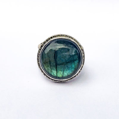 size 9 Labradorite Ring by Berlin Randall